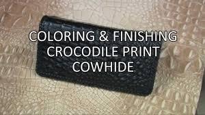 crocodile print checkbook tandy leather drink sleeves crocodile leather craft leather bracelets