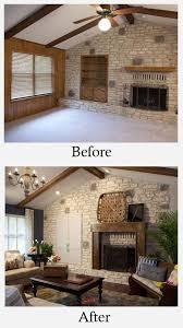paneling makeover living room remodel