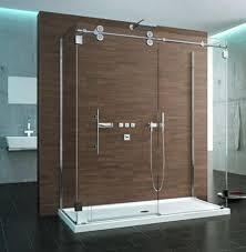 frameless sliding door frameless shower door