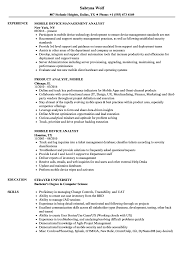 Web Analyst Resume Sample Mobile Analyst Resume Samples Velvet Jobs 42