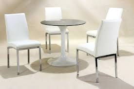 small round dining table 4 chairs bedroom impressive small round dining tables white high gloss glass