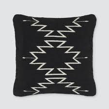 black and white throw pillows  zapotec design – the citizenry