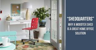 home office solution. Shedquarters - Why A Woodtex Shed Is Great Home Office Solution 1