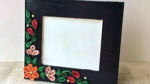 How To Create A Simple Quilled Photo Frame - DIY Crafts Tutorial ...
