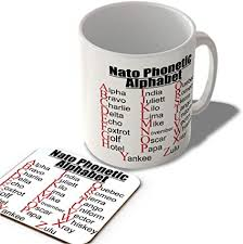 By using ipa you can know exactly how to pronounce a certain word in english. Mcmug Nato Phonetic Alphabet Alpha Brave Charlie A To Z Mug And Coaster Set Amazon Co Uk Kitchen Home