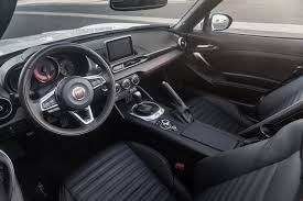 fiat abarth 2015 interior. inside itu0027s a mazda thankfully the japanese company has been producing some of best interiors in business with everything feeling wellcrafted fiat abarth 2015 interior
