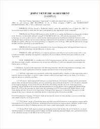 Joint Partnership Agreement Template Downloadable Joint Venture Agreement Template Free Xymetri 11