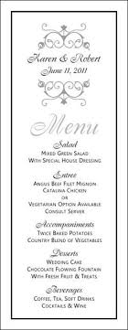 Formal Dinner Menu Template Gorgeous Free Menu Templates Fonts Jklkj Pinte