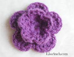 Easy Crochet Flower Patterns Free Impressive Free Crochet Patterns And Designs By LisaAuch How To Crochet A