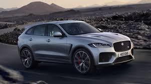 Jaguar F-Pace SVR 2019 Silver Front Dynamic