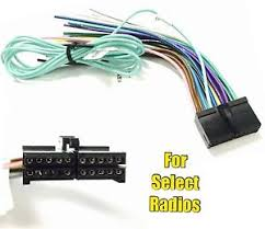 car stereo radio replacement wire harness plug for some jensen 20 image is loading car stereo radio replacement wire harness plug for