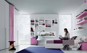 bedroom ideas for teenage girls purple and pink. Simple Girls Cool Teenage Rooms Drawing On Your Wall  Pink Purple White Contemporary Teenagers  Room With Bedroom Ideas For Girls And R