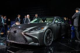 2018 lexus 4 door. beautiful lexus 2018 lexus ls at naias front 34 image  2017 mark stevenson inside lexus 4 door
