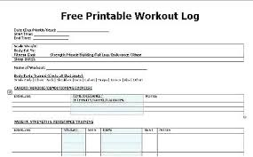training plan template word workout training schedule plan templates fitness personal session