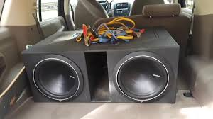 New q bomb subwoofer box