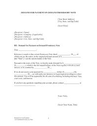 Demand Promissory Note Sample Impressive Promissory Note Template Sample Payable Payment Template Gbooks
