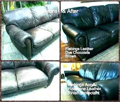 bonded leather repair how to repair bonded leather kit for ling