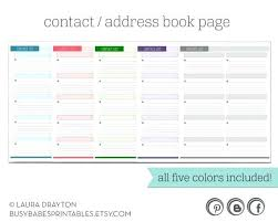 Printable Address Book Template Excel Address Book Template Printable List Wedding Guest Threestrands Co