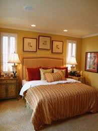 recessed lighting bedroom. love the recessed lights above bed wall color gives an even lighting bedroom