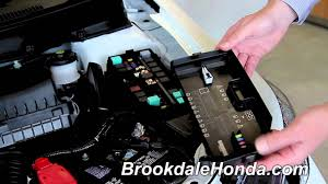 honda civic locating the fuse box and fuses how to by 2013 honda civic locating the fuse box and fuses how to by brookdale honda