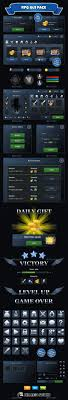 Rpg Game Ui Design Rpg Game User Ui Templates From Graphicriver