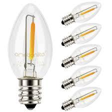 Ebay Light Bulbs Night Light Bulbs Emotionlite Led C7 Bulb E12 Candelabra