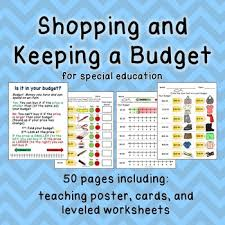 Teaching Budgeting Worksheets Budget Worksheets Do You Have Enough Money Life Skill Math For