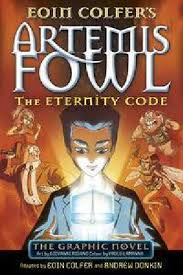artemis fowl the eternity code graphic novel by eoin colfer