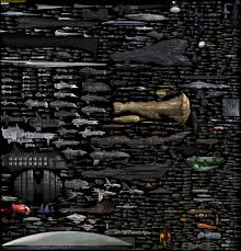 Sci Fi Chart What The Nerdiest Chart Of Sci Fi Ships Says About Our