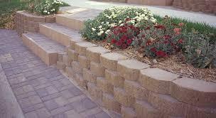 garden wall retaining wall blocks