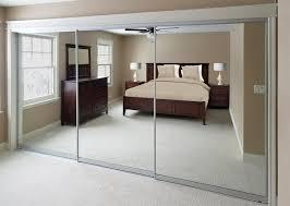 mirrored creative sliding doors of