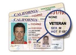 Veteran License Id Launches Patch Rosemont And Card California Driver Ca