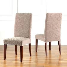 incredible damask dining room chair covers sure fit stretch jacquard damask dining room chair slipcover sure