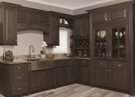 Grey Stained Kitchen Cabinets Dark Grey Stained Kitchen Cabinets And Stainless Steel Farmhouse
