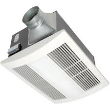 Safe Bathroom Heaters Panasonic Whisperwarm 110 Cfm Ceiling Exhaust Bath Fan With Light