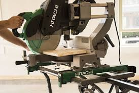 hitachi 12 miter saw. hitachi c12rsh2 15-amp 12-inch dual bevel sliding compound miter saw with laser marker - amazon.com 12