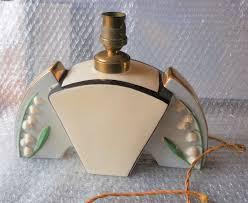 french art deco lamp base