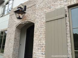 sheryl s extra large v style gas lantern hanging over front door traditional exterior