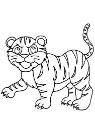 Coloriage Tigre Moderne Dessins De Coloriage Tigre Imprimer Sur