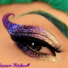 cool costume makeup could be for mardi gras