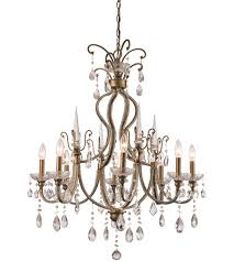 trans globe lighting ju 8 ag juglans 8 light 30 inch antique gold chandelier