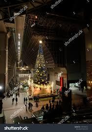Kyoto Christmas Lights Kyoto Japan December 9 2016 Huge Stock Photo Edit Now
