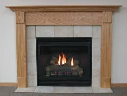 simple electric fireplace design feature maple wood legs and header also wooden mantel shelf and also
