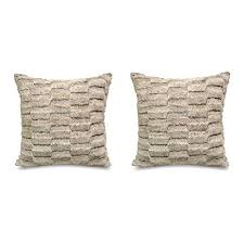 Better Homes And Gardens Faux Cut Fur Decorative Pillow