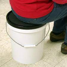 bucket companion padded seat lid for 5