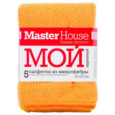 <b>Салфетки для уборки</b> Master House Мой надежный MH1 <b>5</b> шт ...