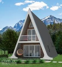 alberta a frame small home design