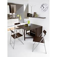 modern folding wood and metal furniture for dining area