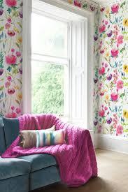 Pink Flower Wallpaper For Bedrooms 1000 Images About Floral Wallpapers On Pinterest Anna Griffin