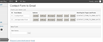 form to contact form email wordpress plugins